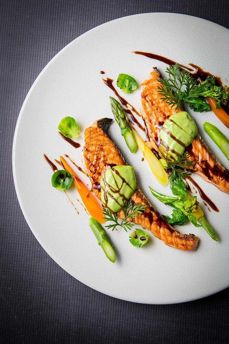 Salmo & Asparagus